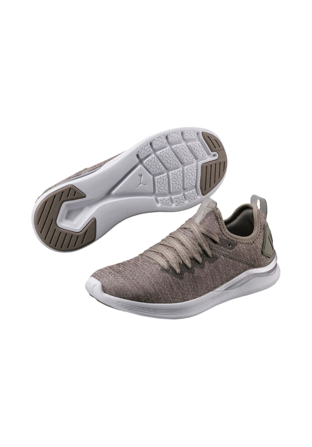 promo code 6bd51 04d49 Puma IGNITE Flash evoKNIT EP - Running shoes for Women - Brown