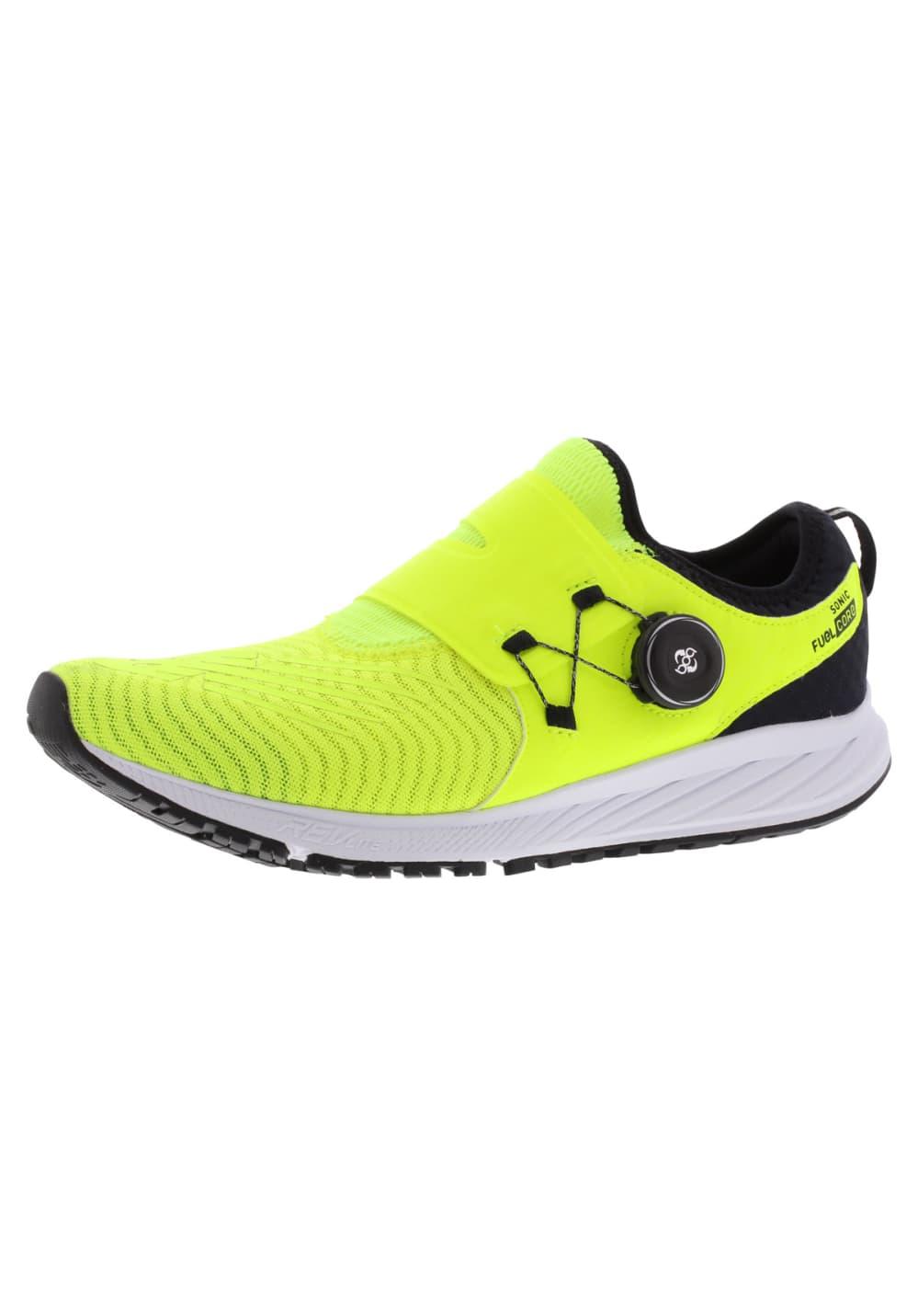 détaillant en ligne b89e4 621cf New Balance FuelCore Sonic - Chaussures running pour Homme - Jaune