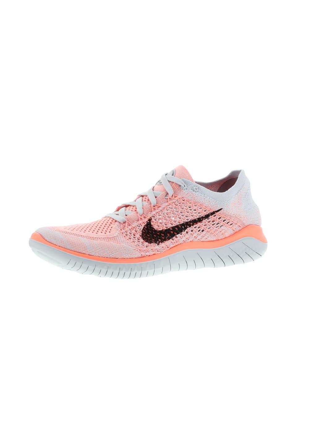 Nike Free RN Flyknit 2018 - Laufschuhe für Damen - Pink