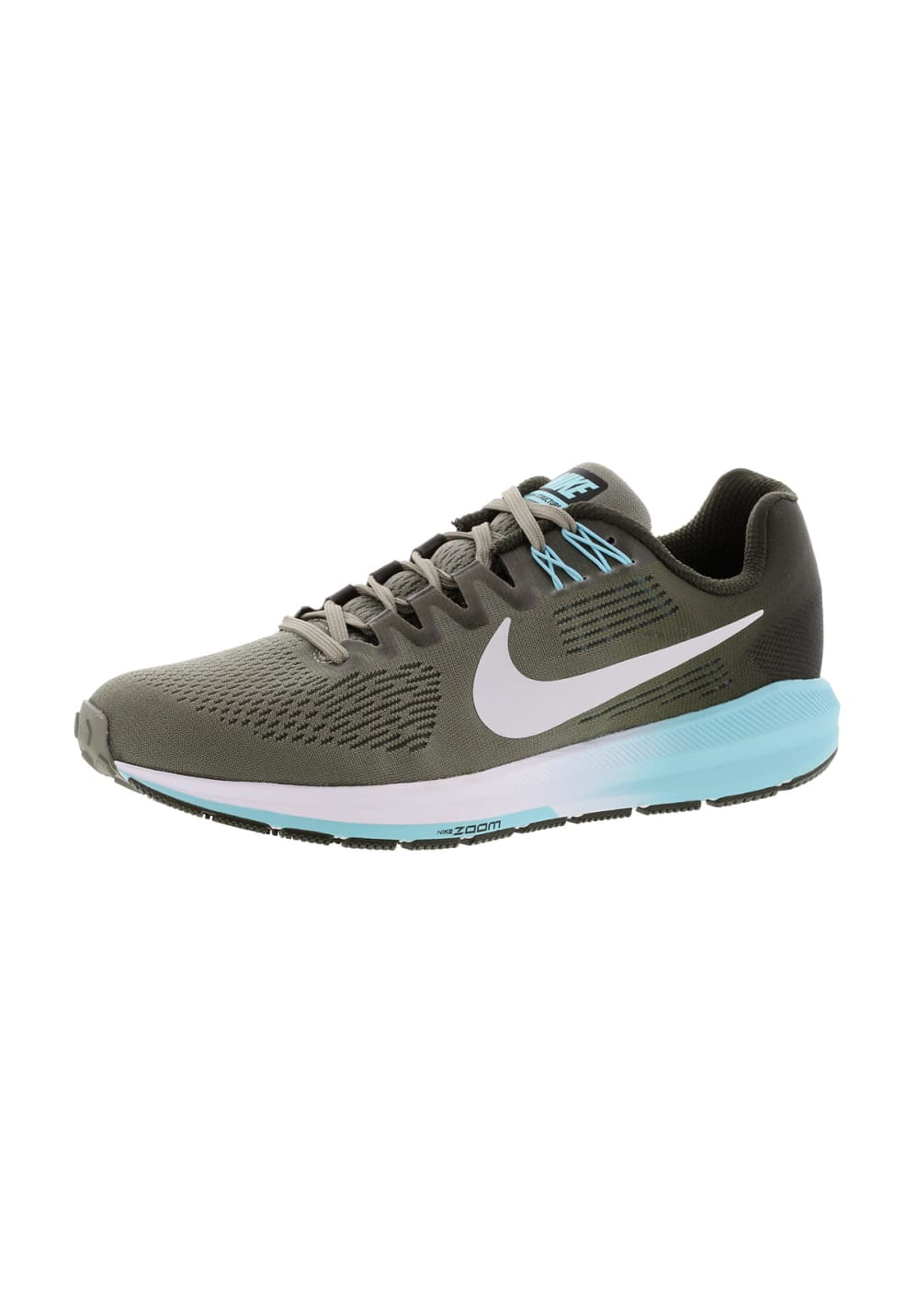newest 0ad2b 2c69f Nike Air Zoom Structure 21 - Running shoes for Women - Green