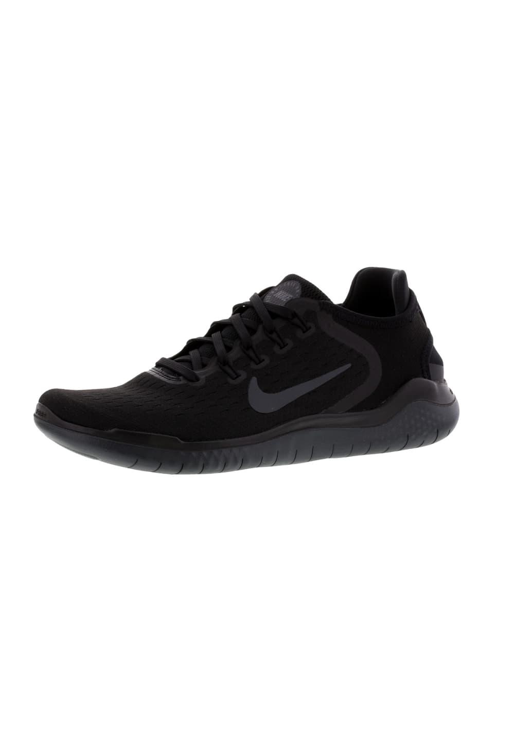 Rn Nike Free Mujer Negro Para De Running 2018 Zapatillas