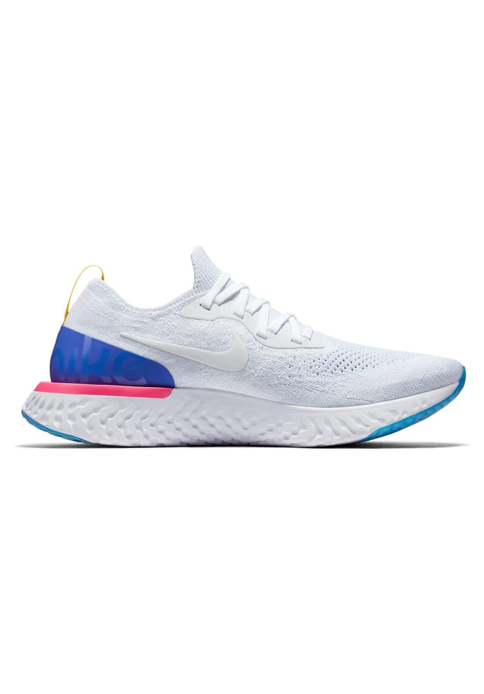 timeless design 3507a 598e7 Nike Epic React Flyknit - Running shoes for Men - White | 21RUN