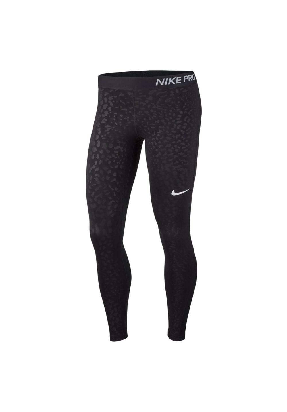 Nike Pro Tights - Fitnesshosen für Damen - Schwarz
