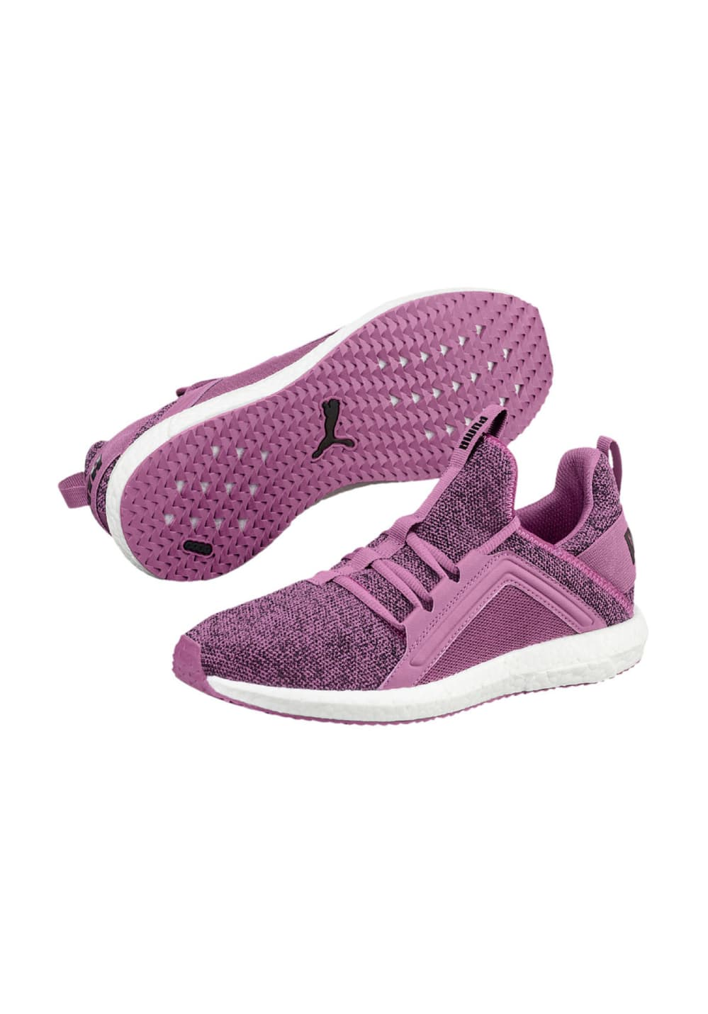 Puma Mega Nrgy Knit Chaussures running pour Femme Rose