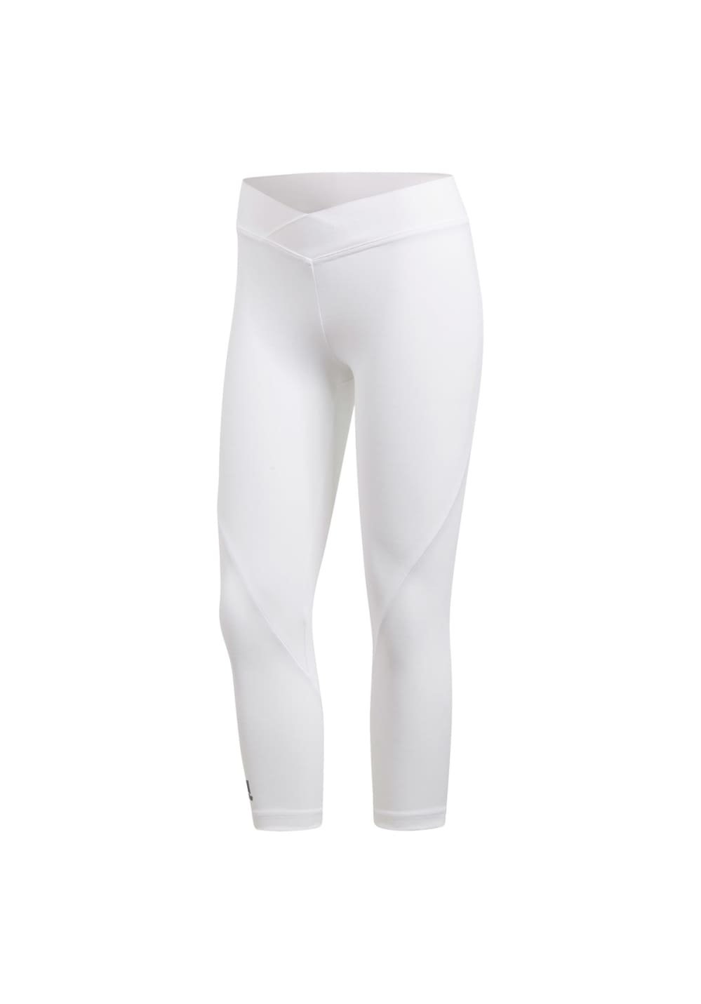 71a67c5fc7051 adidas Alphaskin Tech 3/4-tight - Fitness trousers for Women - White ...
