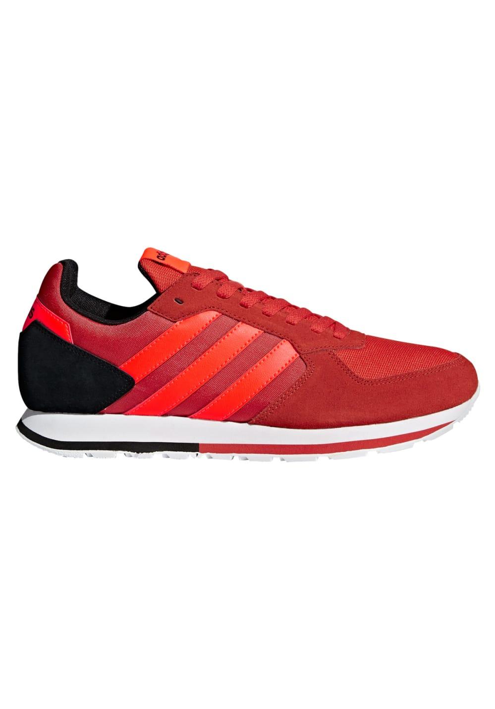 zapatillas hombres adidas rojas