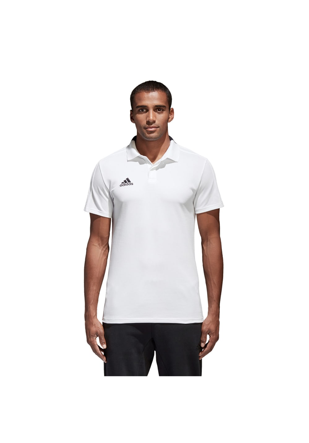 clearance sale sports shoes reputable site adidas Condivo 18 Cotton Poloshirt - Casual clothing for Men - White