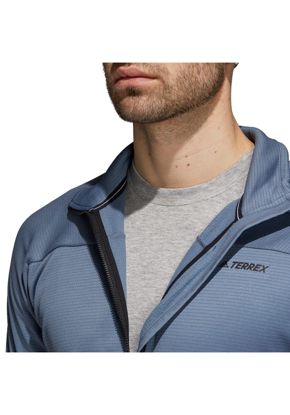 adidas TERREX Stockhorn Jacke Sweatshirts & Hoodies für Herren Blau