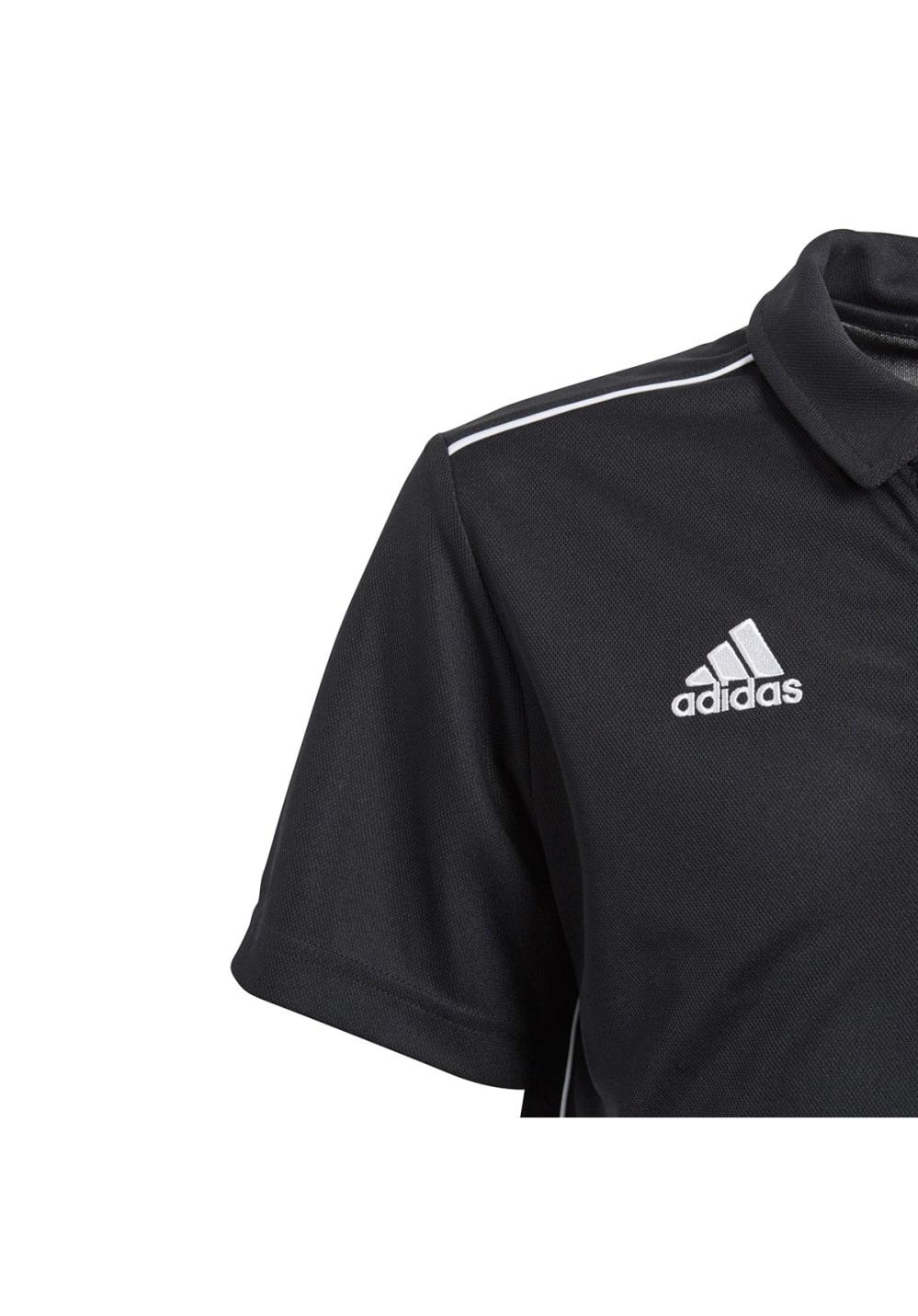 630f7979246b8 adidas Core18 Polo Y - Casual clothing - Black