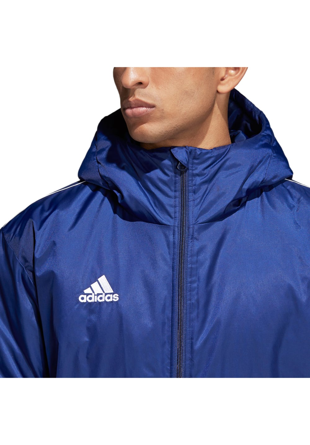 49a6b82f8 adidas Core 18 Stadium Jacke - Running jackets for Men - Blue