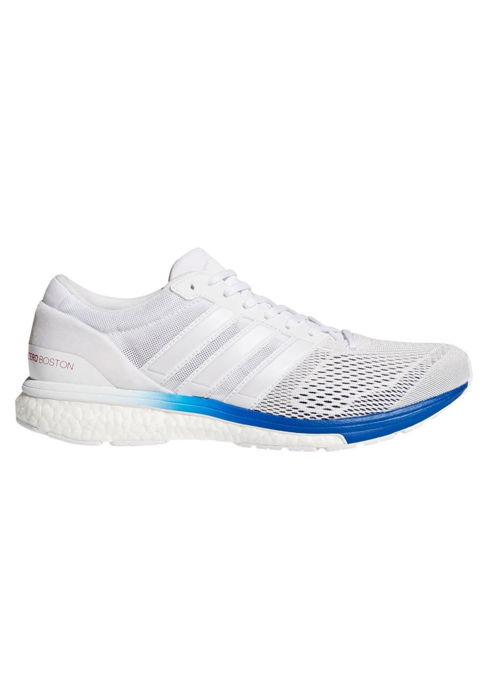 nouveau concept e4403 5b067 adidas Adizero Boston 6 Aktiv - Running shoes - White