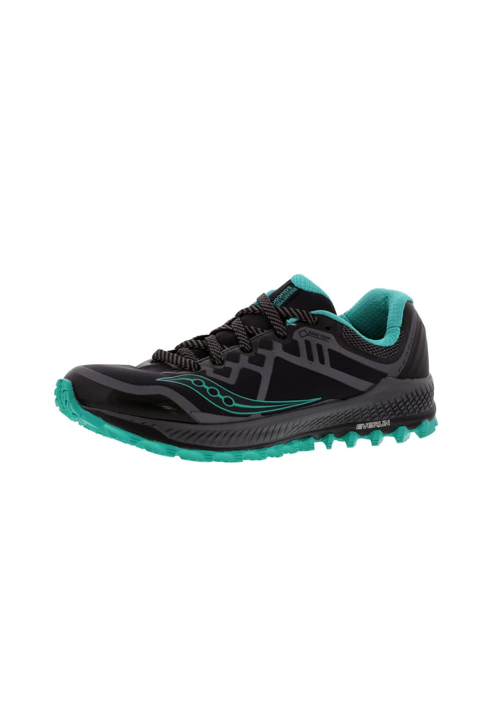 quality design 79ccb db1a6 Saucony Peregrine 8 GTX - Running shoes for Women - Black