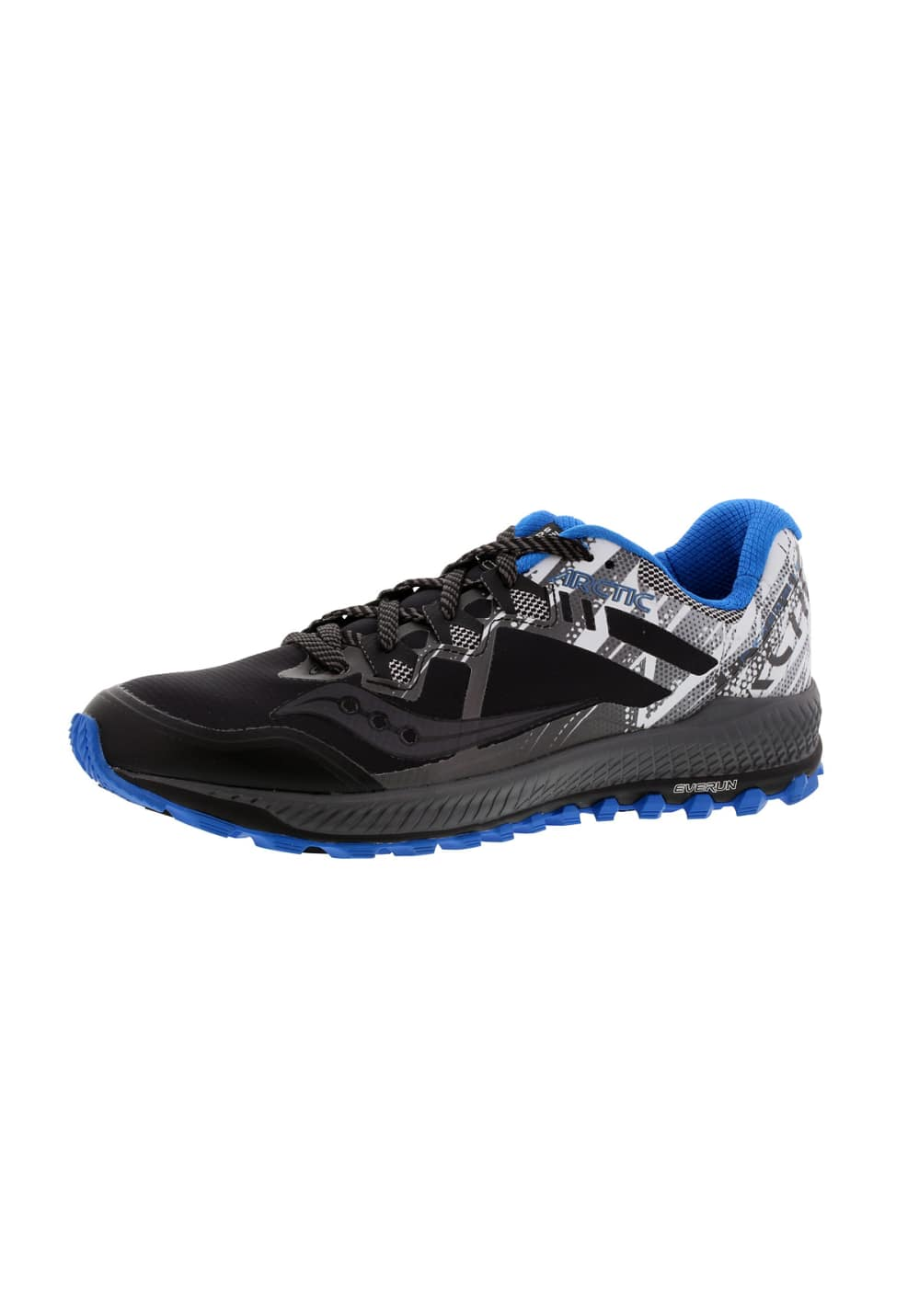 74937726 Saucony Peregrine 8 Ice+ - Running shoes for Men - Black