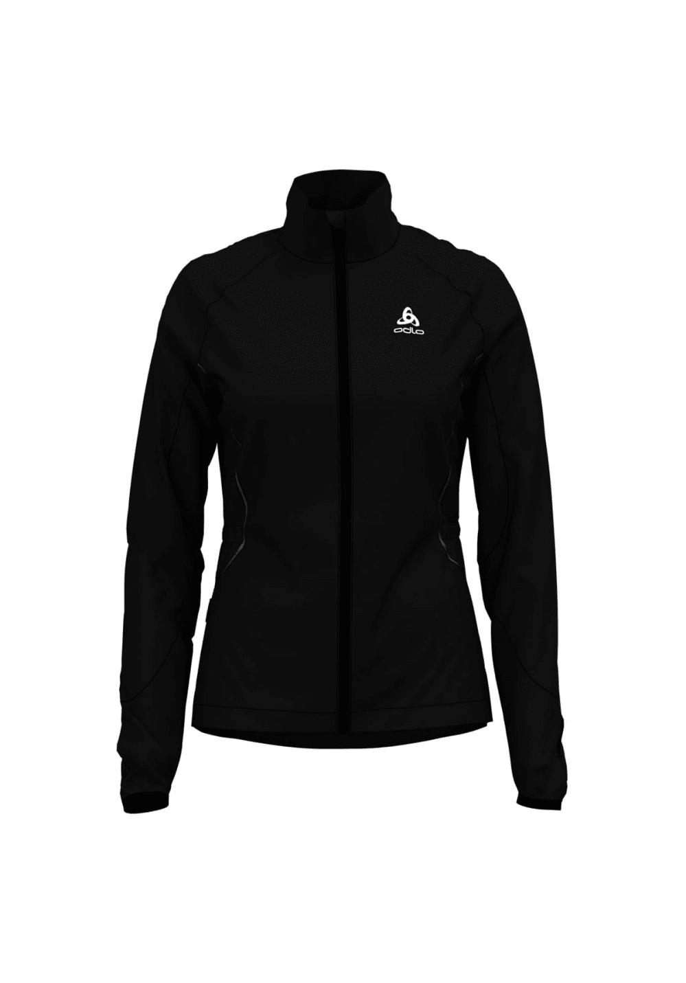 9e4ea85d8c3 Odlo Jacket Zeroweight Windproof Warm - Running jackets for Women - Black