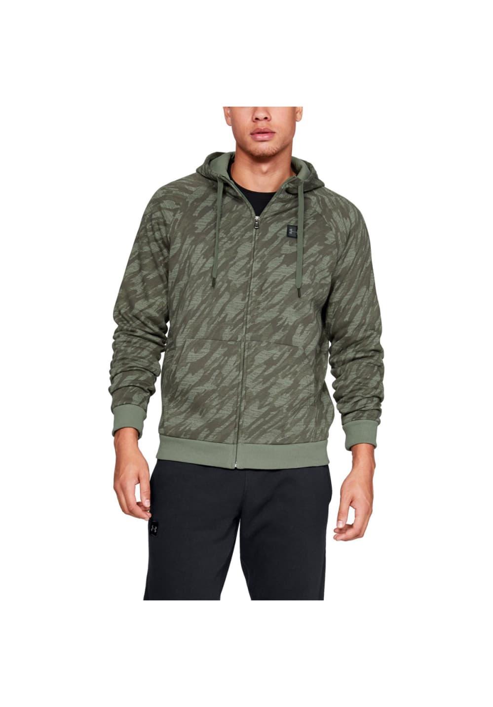 69c57a8262f4d Under Armour Rival Fleece Camo Full Zip Hoodie - Sweatshirts ...