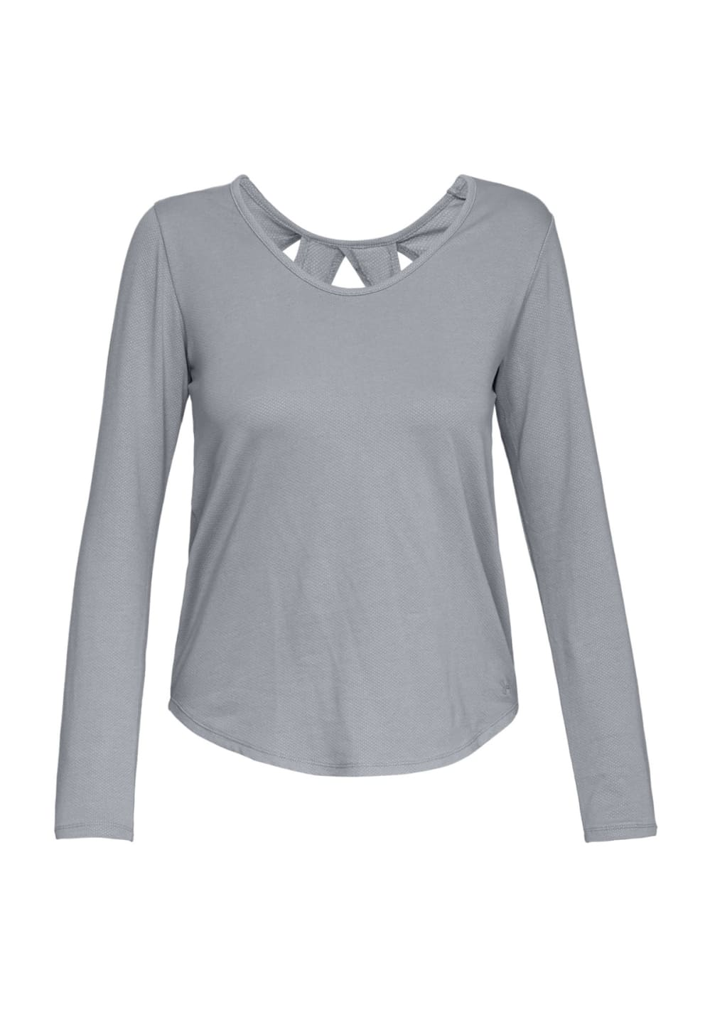 under armour pindot open back longsleeve t shirts f r. Black Bedroom Furniture Sets. Home Design Ideas