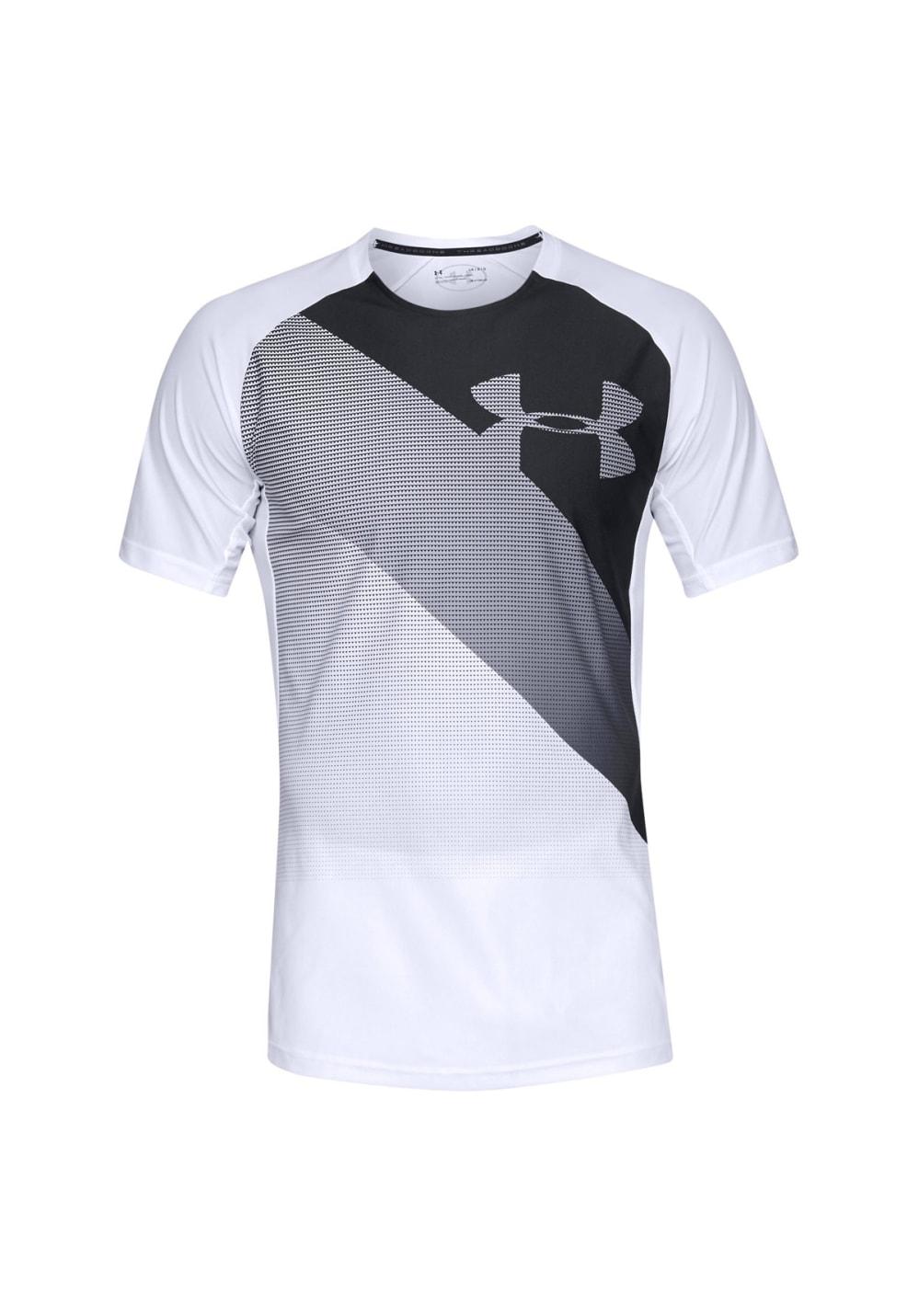 c17a02f968 Under Armour Threadborne Vanish Short Sleeve - Fitness tops for Men - White