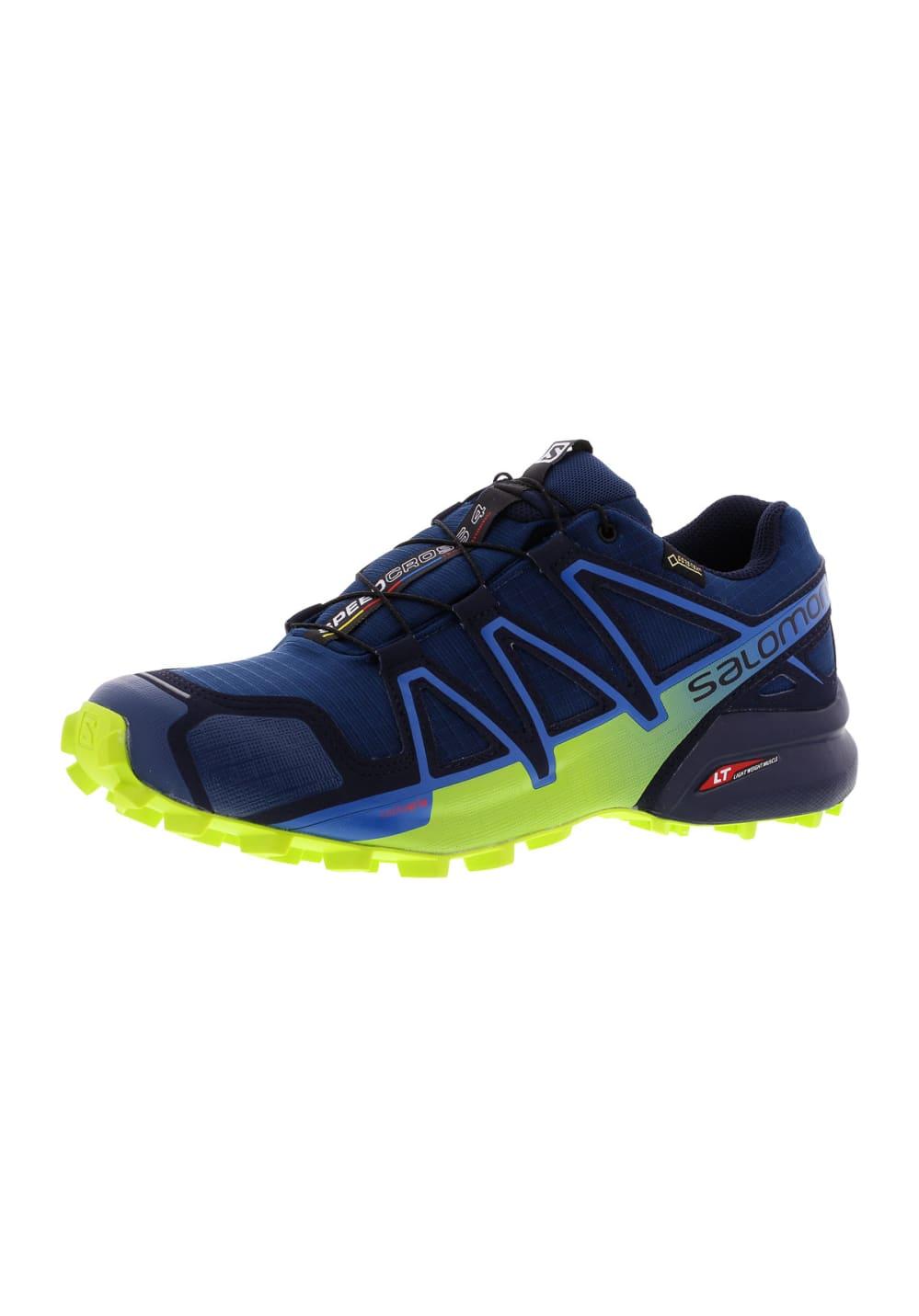 chaussures de sport 07c42 af464 Salomon Speedcross 4 GTX - Running shoes for Men - Blue