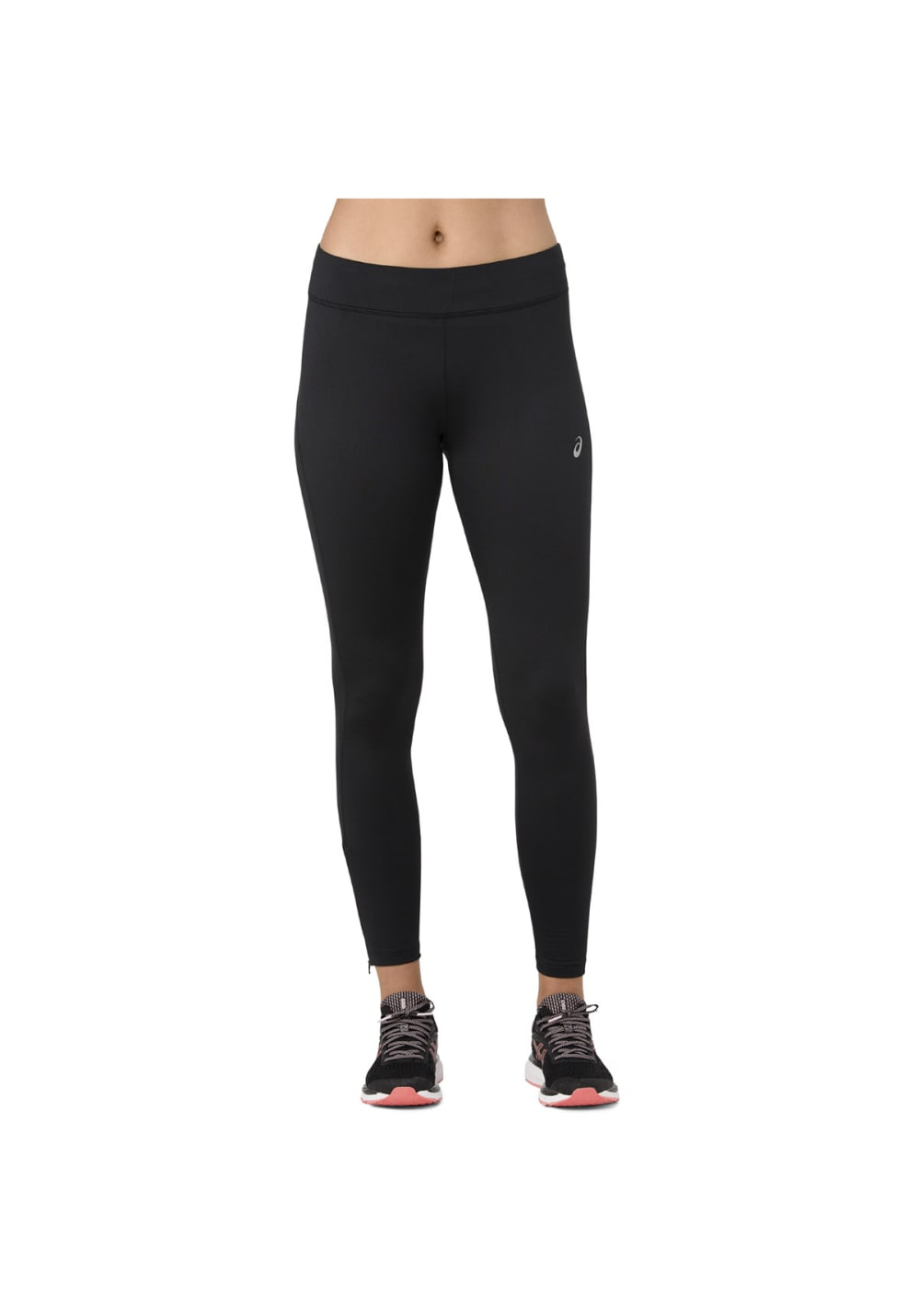 ASICS Silver Winter Tight Running trousers for Women Black