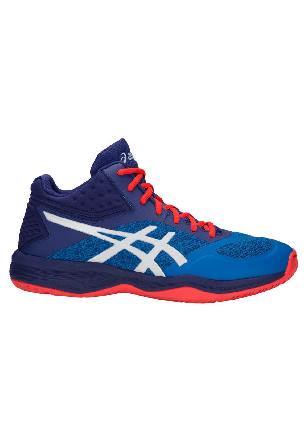 ASICS Netburner Ballistic FF MT Chaussures de volleyball pour Homme Bleu
