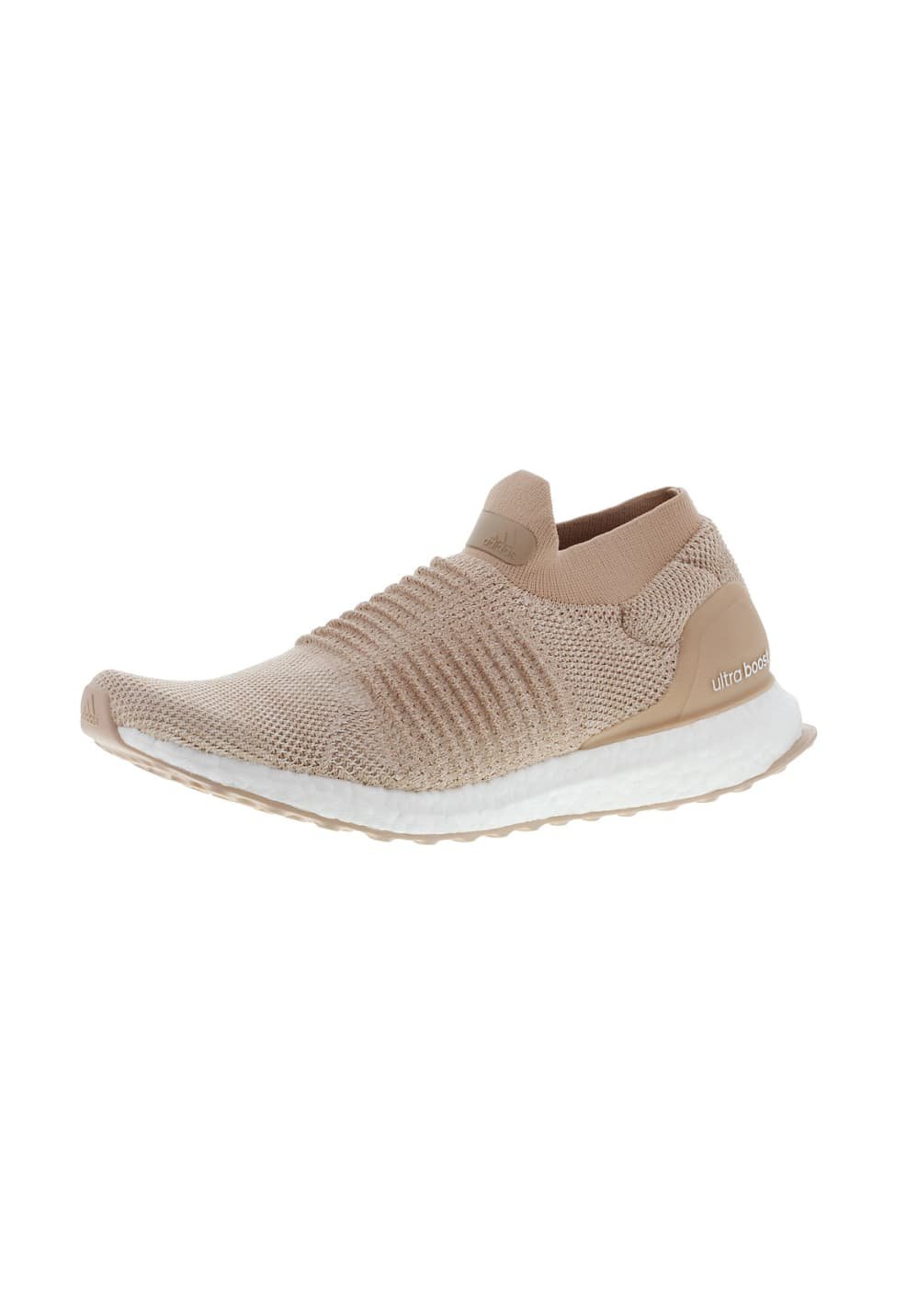 Nouveaux produits bf7ff b357b adidas Ultra Boost Laceless - Running shoes for Women - Beige