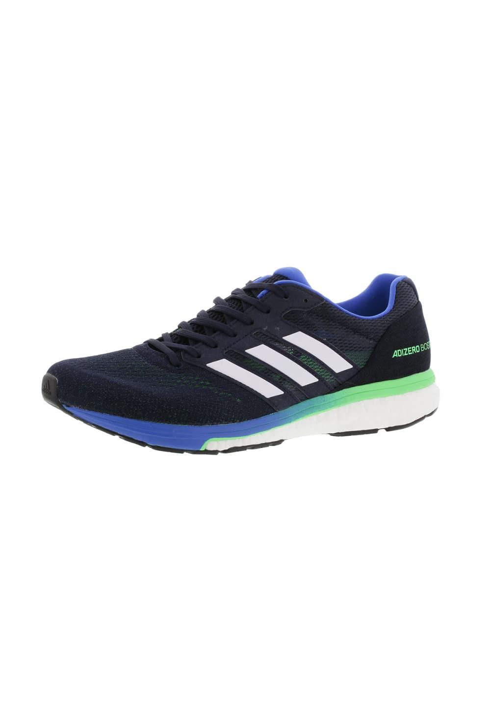 adidas Adizero Boston 7 Chaussures running pour Homme Bleu