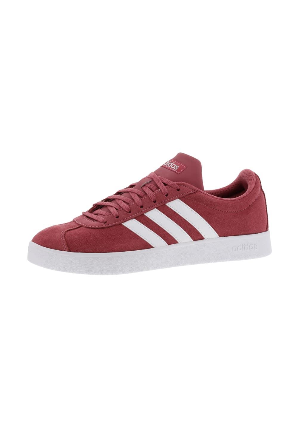 meilleur site web 06f99 a3e47 adidas neo VL Court 2.0 - Baskets pour Femme - Rouge