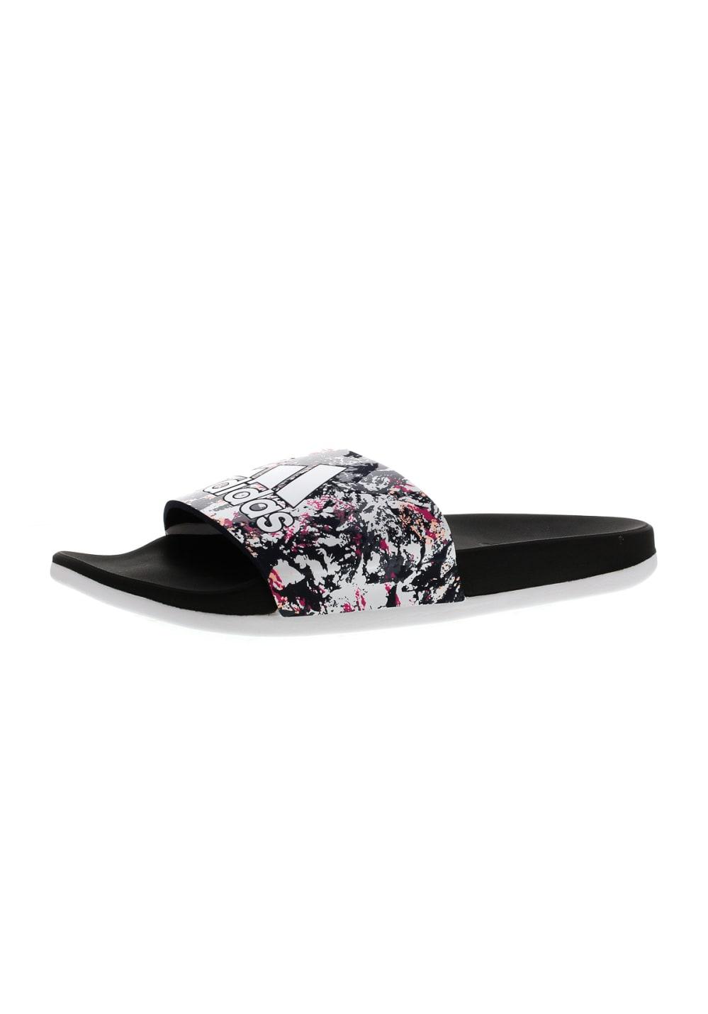d271f9f6e6416b adidas Adilette Cloudfoam Plus Graphic Slides - Bathing shoes for ...