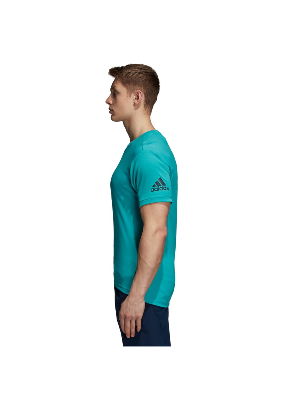 6726e115 adidas FreeLift Climachill Tee - Fitness tops for Men - Green | 21RUN