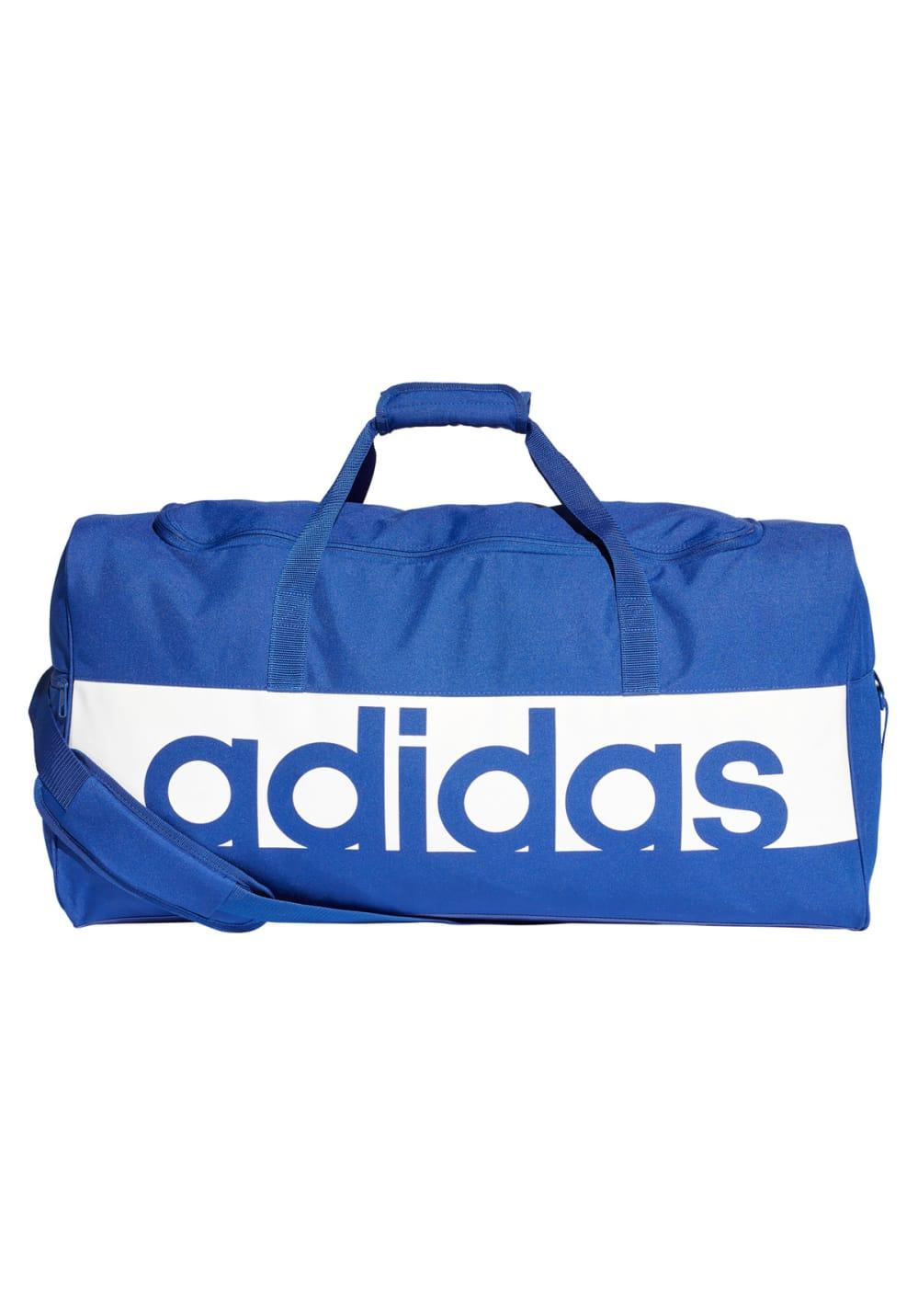 1cb78bd2e216 adidas Linear Performance Duffel Bag Large - Sports bags - Blue