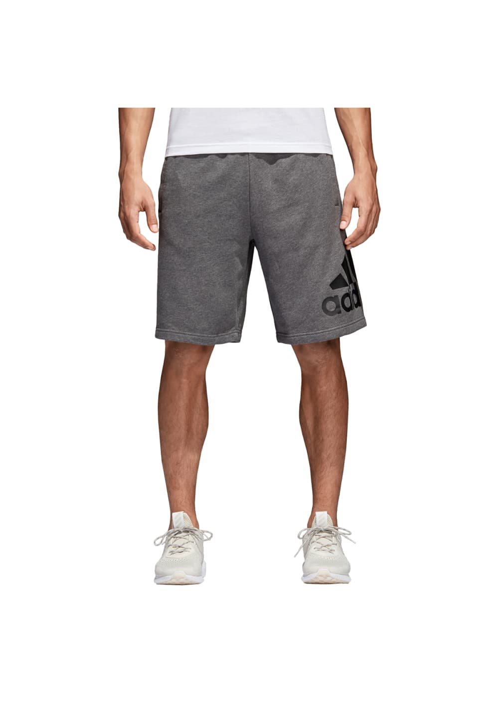 adidas Essentials Chelsea Shorts - Fitnesshosen für Herren - Grau