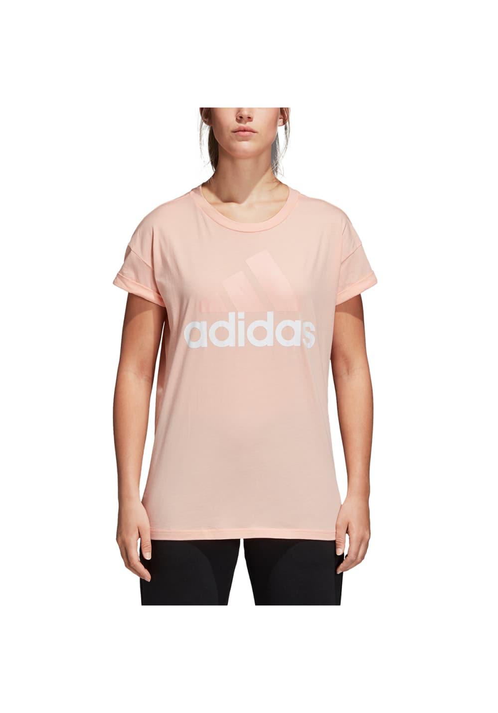 premium selection e790a 2c151 Next. -60%. adidas. Essentials Linear Loose Tee - Maillot fitness pour Femme.  Prix normal ...