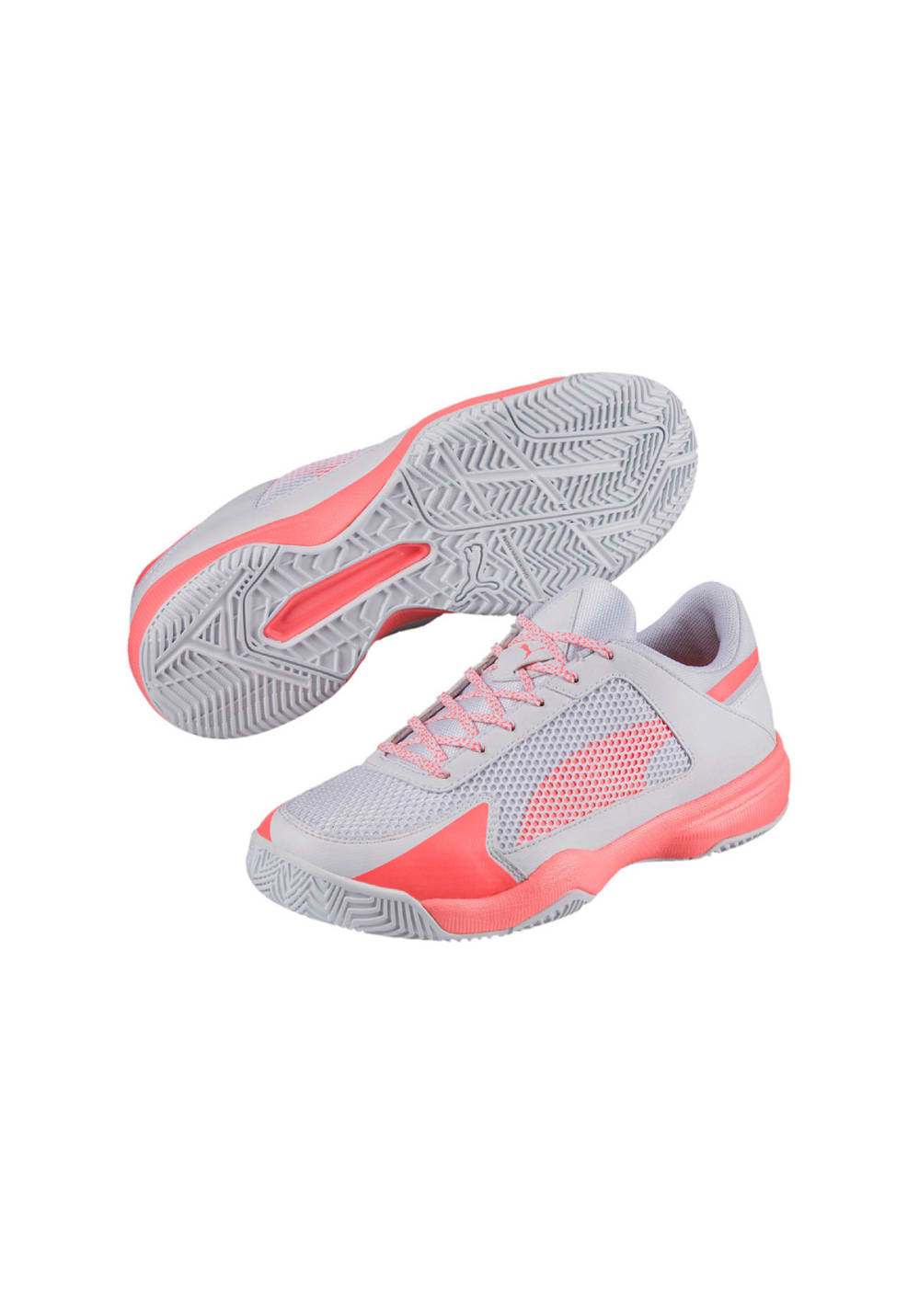 Puma Evospeed Indoor Netfit 5 - Handball shoes for Women - Grey  9564406fab26