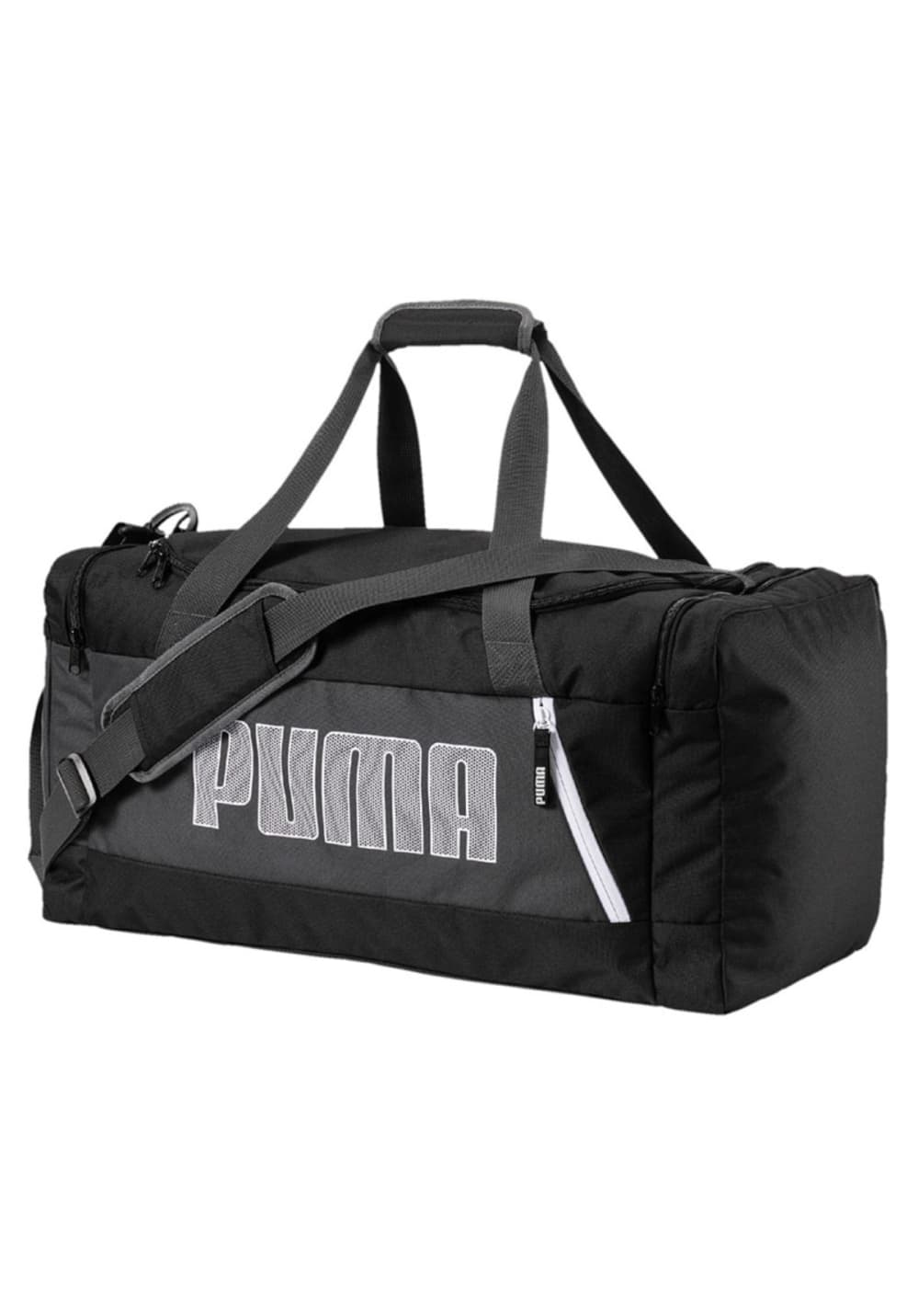 37dbcf1191 Puma Fundamentals Sports Bag M II - Sports bags - Black | 21RUN