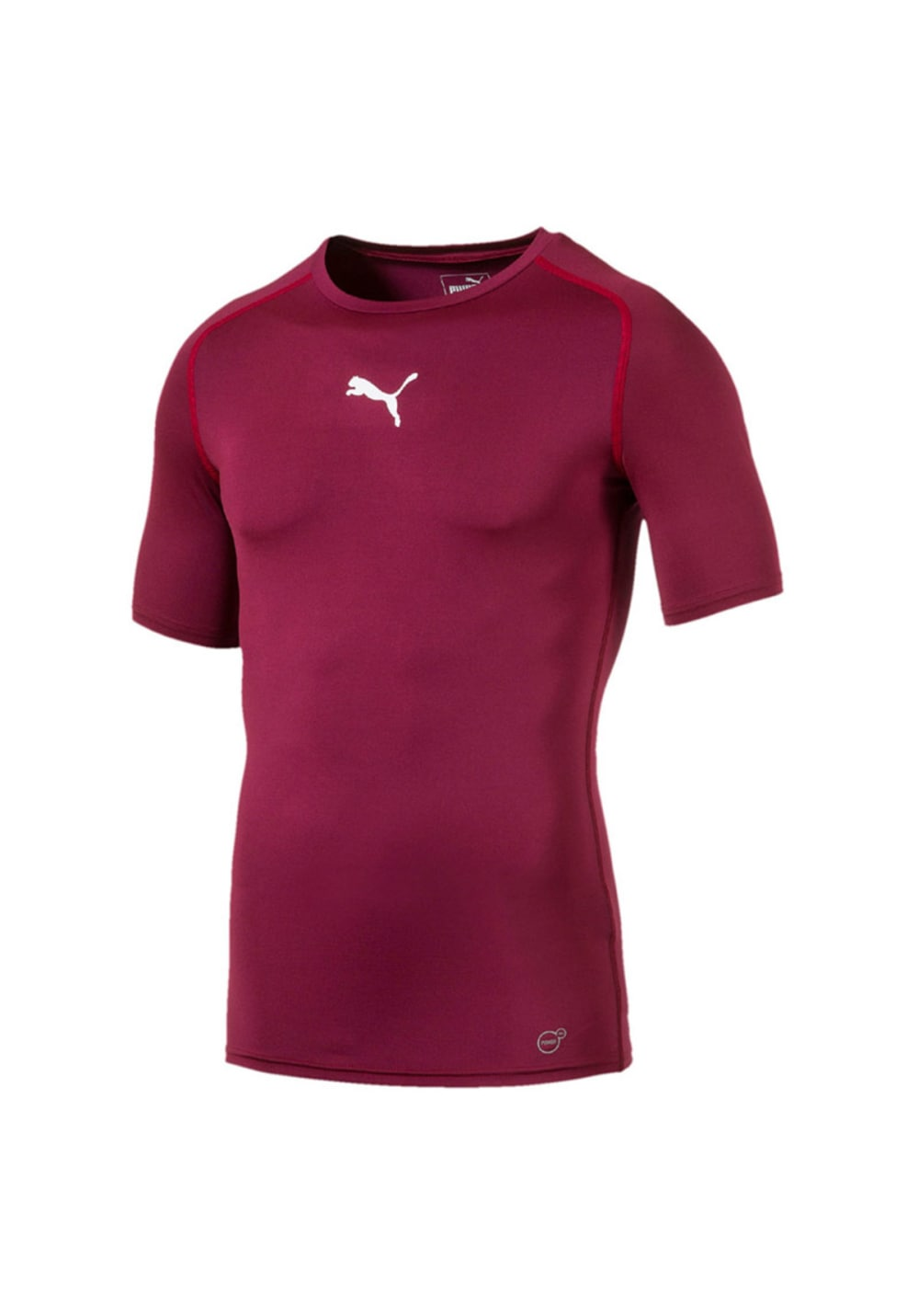 218b2e0465852 Puma Tb Short Sleeve Tee - Fitnessshirts für Herren - Rot