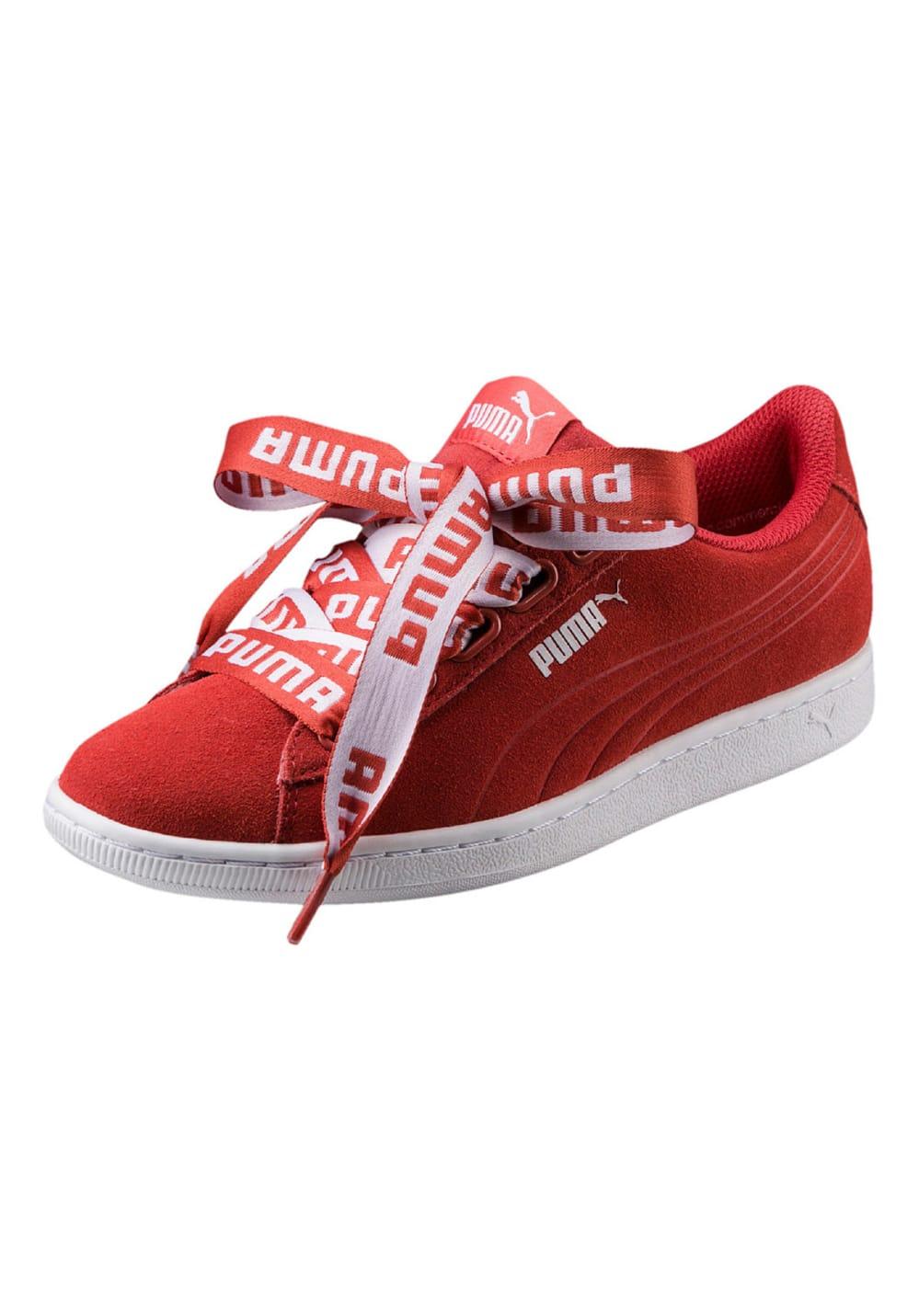 zapatillas mujer puma rojo