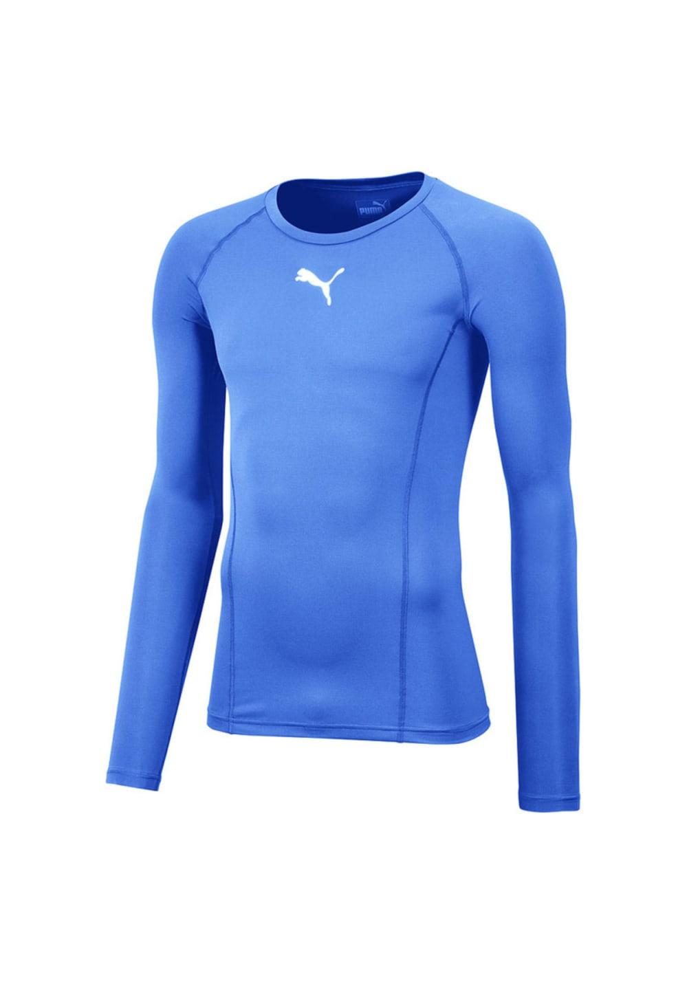 3b29b5abcfd Puma Liga Baselayer Tee Long Sleeve - Running tops for Men - Blue ...