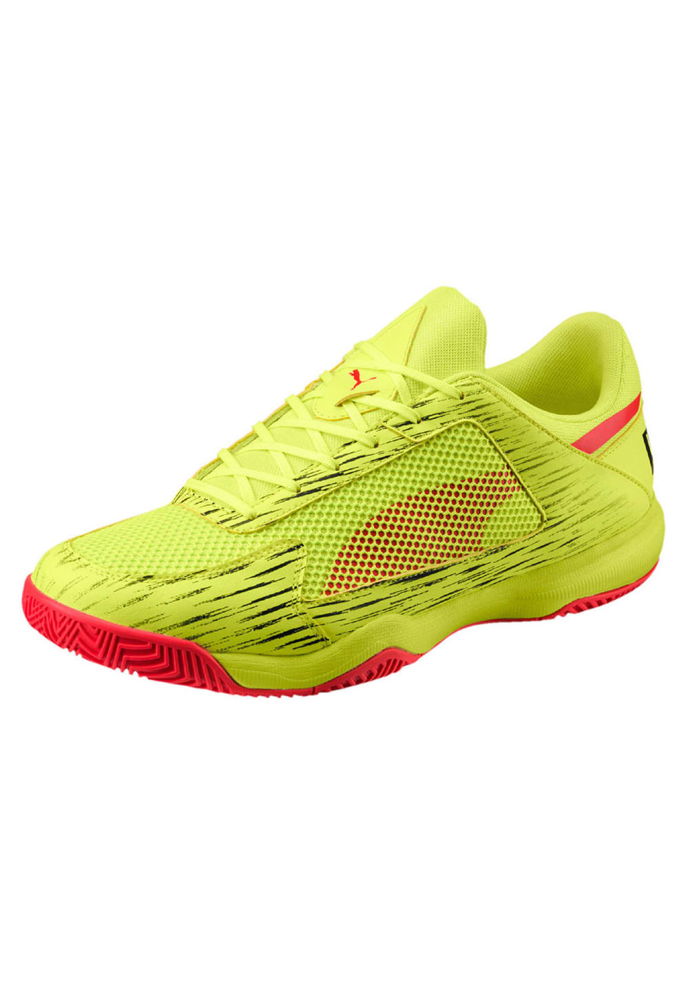Puma Evospeed Indoor Netfit Euro 5 - Indoor shoes - Yellow  efebfb5c77ec