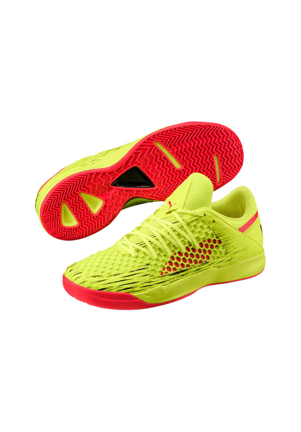 newest 62c39 90ac2 ... Puma Evospeed Indoor Netfit Euro 4 - Football Shoes - Yellow. Back to  Overview. -60%