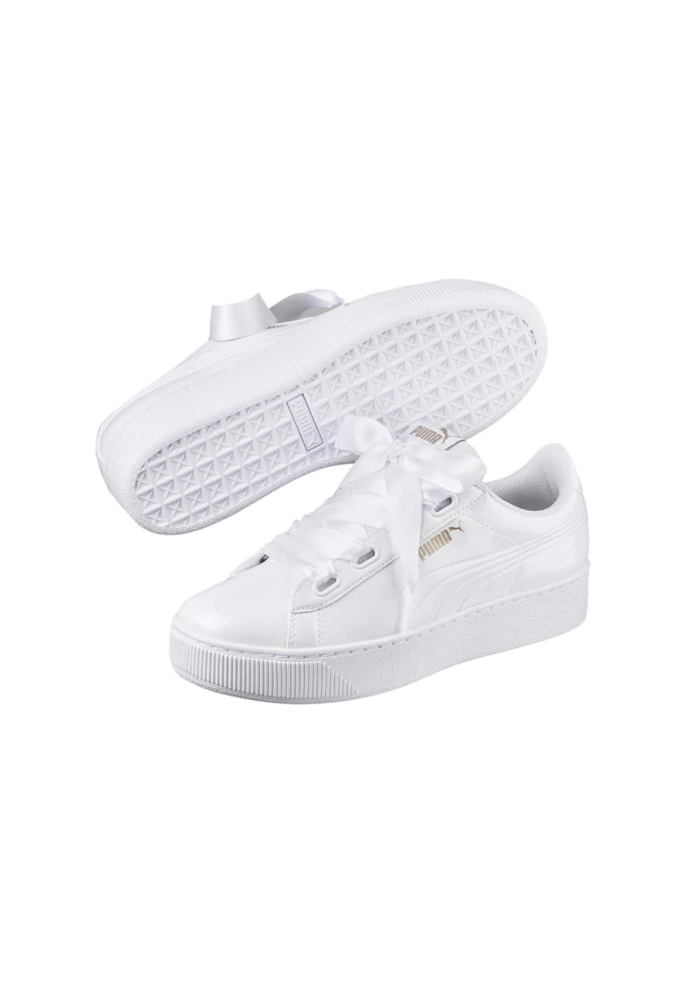 2b8e53799cd Home · Shop · Puma Vikky Platform Ribbon P - Sneaker for Women - White.  Back to Overview. 1  2  3. Previous