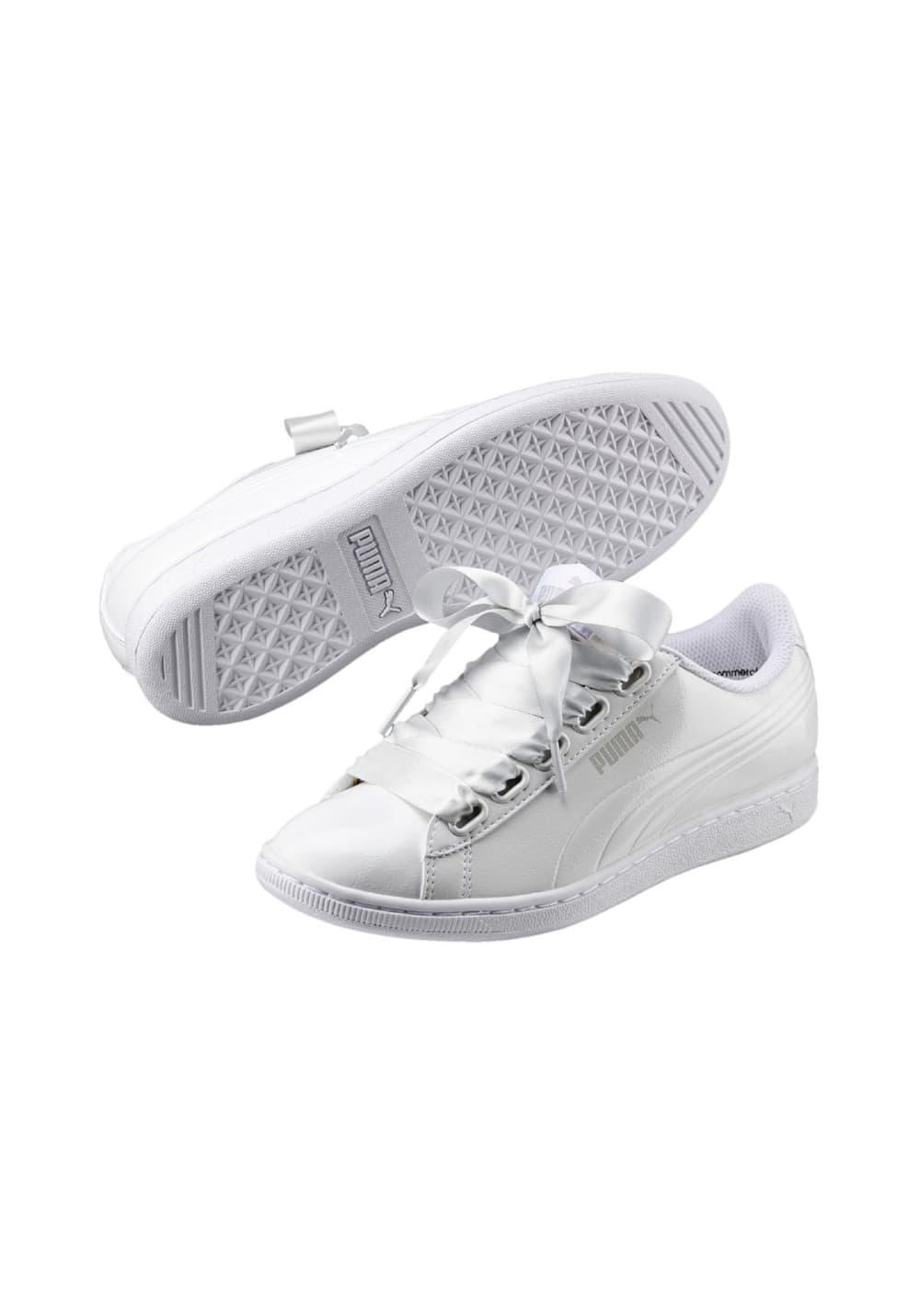 more photos 7852c 3bd84 Puma Vikky Ribbon P - Sneaker for Women - White