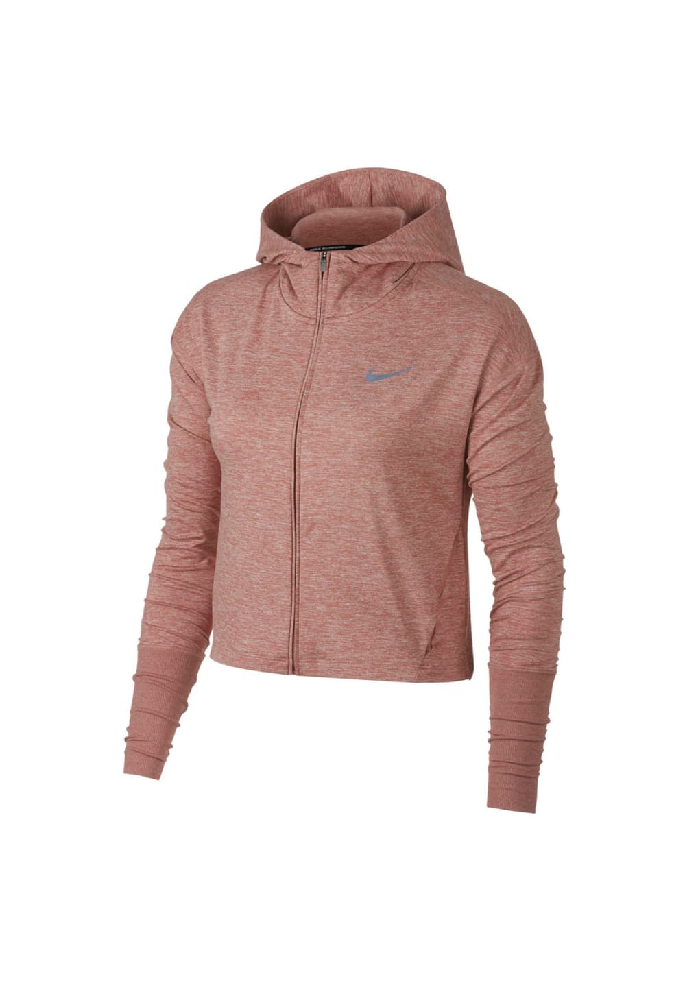 Nike Element Full Zip Hoodie Sweatshirts & Hoodies für Damen Pink