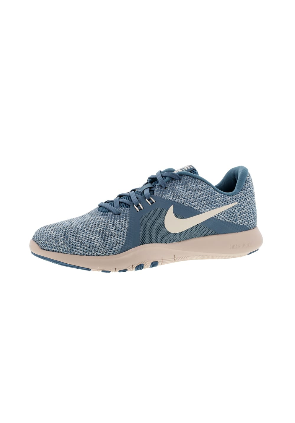 Nike Flex Trainer 8 - Fitnessschuhe für Damen - Blau