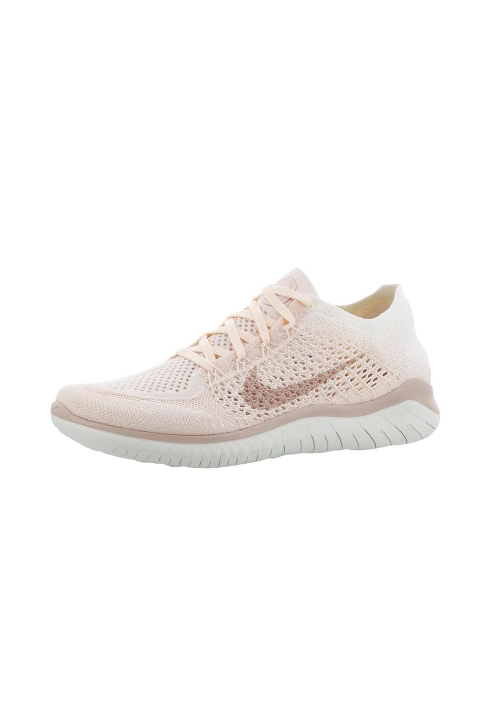 best service 3c924 bafa3 Nike Free RN Flyknit 2018 - Zapatillas de running para Mujer - Rosa