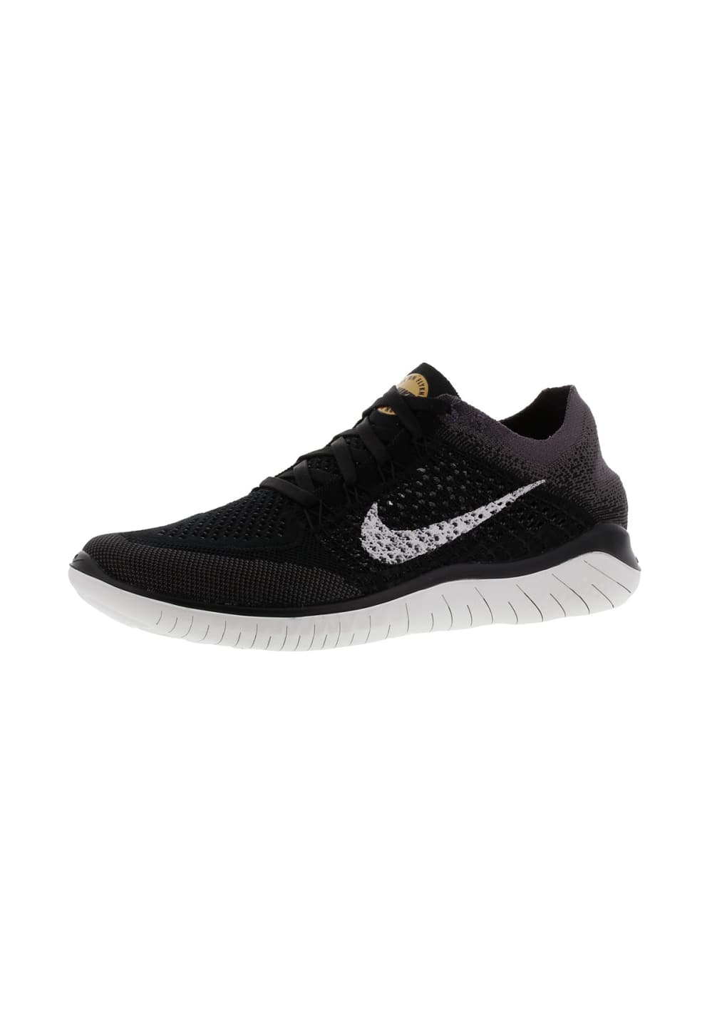on sale f1679 85e4d Nike Free RN Flyknit 2018 - Running shoes for Women - Black