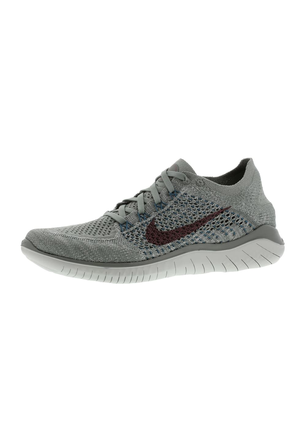 5401f61dce549 Nike Free RN Flyknit 2018 - Running shoes for Women - Grey