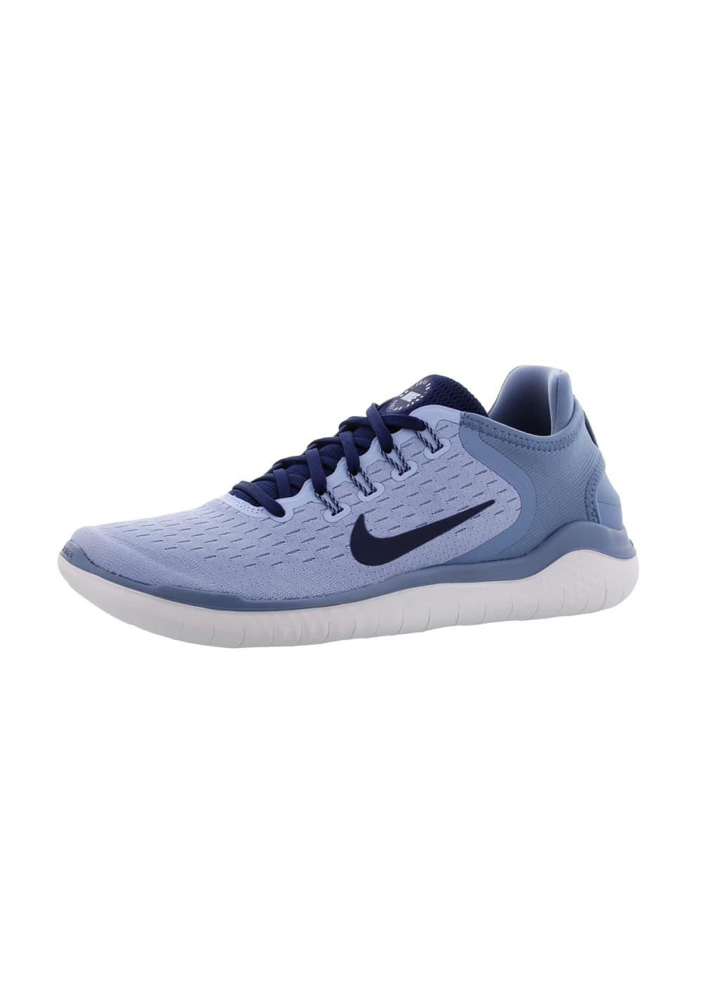 chaussures de séparation a57a9 94ba6 Nike Free RN 2018 - Chaussures running pour Femme - Bleu