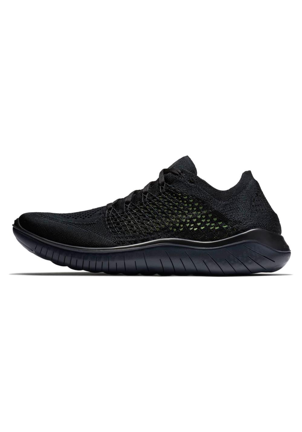 buy online 17754 24e1b Nike Free RN Flyknit 2018 - Running shoes for Men - Black