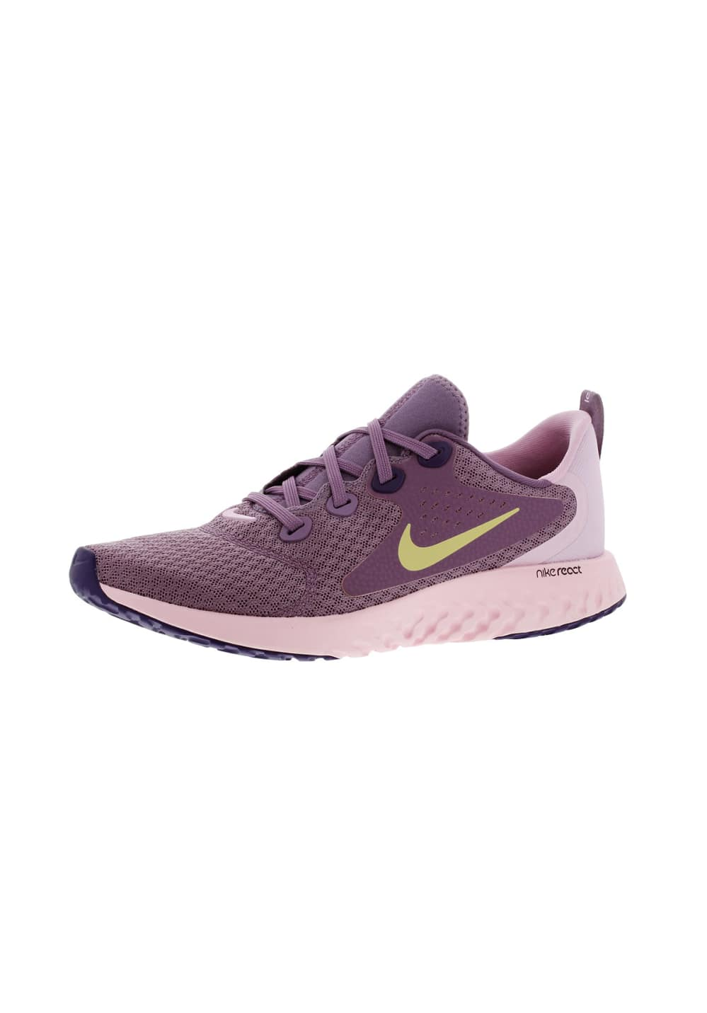 Nike Legend React (GS) - Running shoes for Girls - Purple  6c5af6f3e96