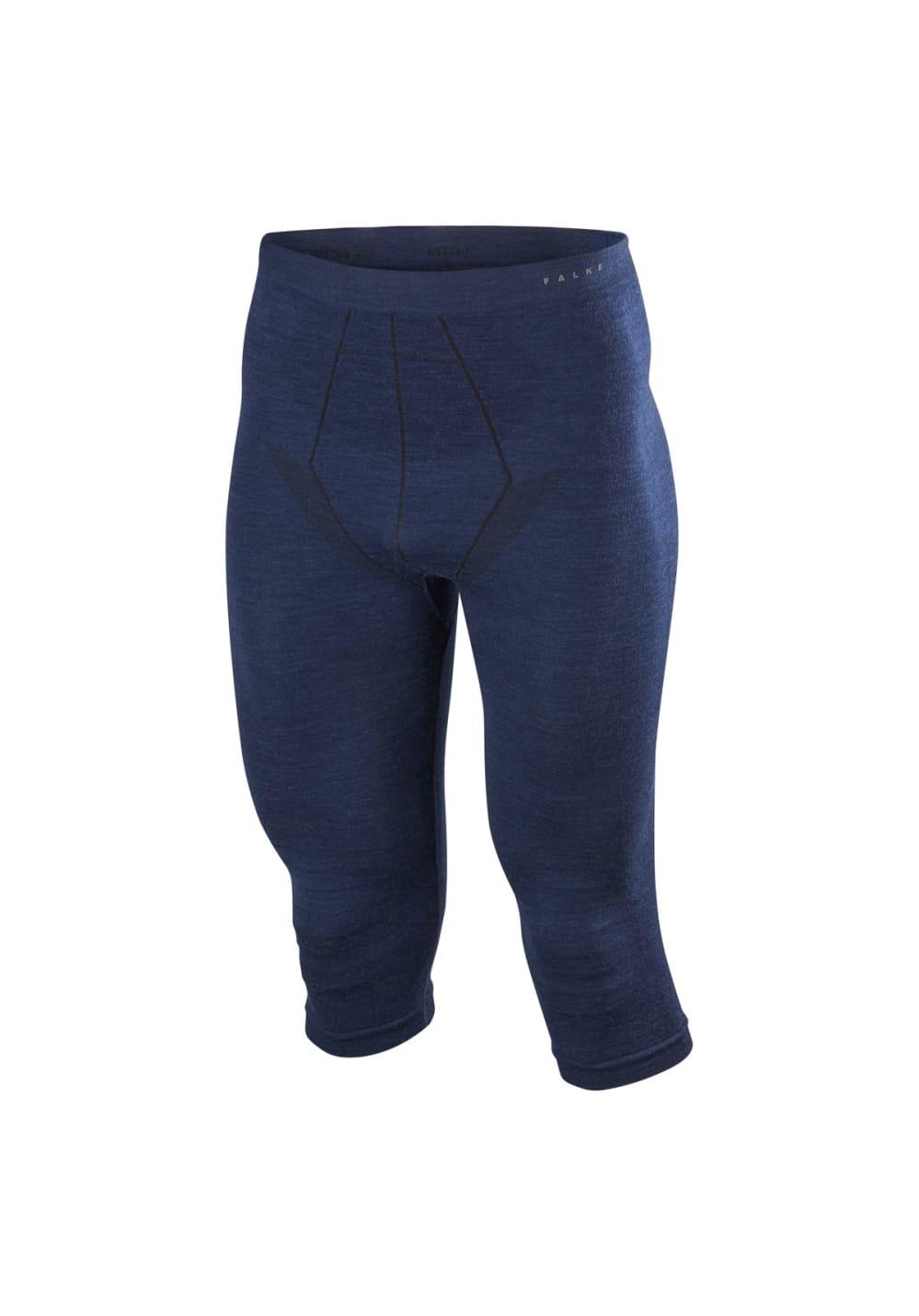830753cd9 Falke Wool-tech 3 4 Tights - Running trousers for Men - Blue